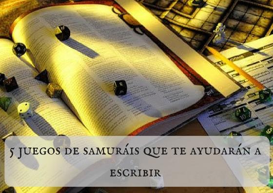 5 juegos de samuráis que te ayudarán a escribir