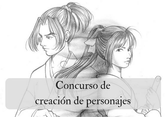 ¡Concurso de creación de personajes!