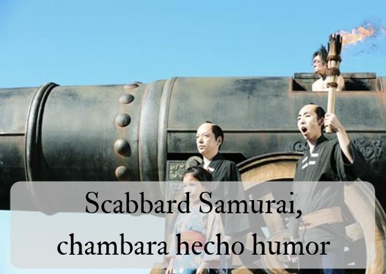 Scabbard Samurai, chambara hecho humor