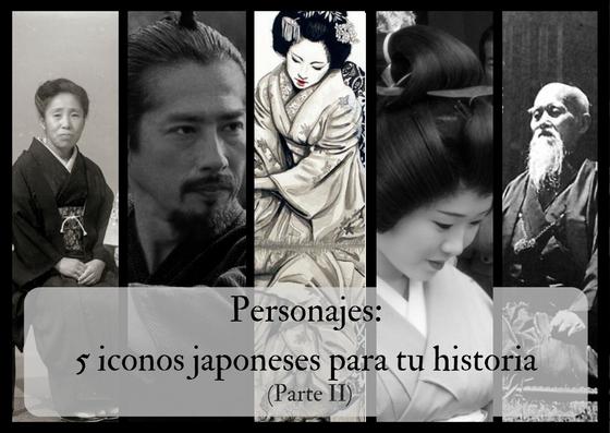 Personajes: 5 iconos japoneses para tu historia (parte II)