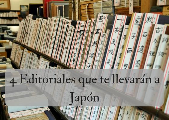 4 editoriales que te llevarán a Japón