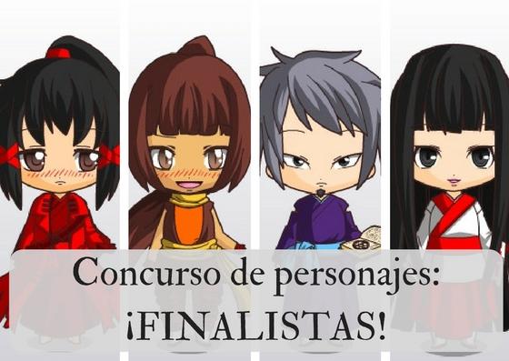 Concurso de personajes: ¡FINALISTAS!