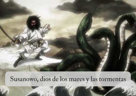Susanowo, dios de los mares y las tormentas