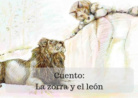 La zorra y el león