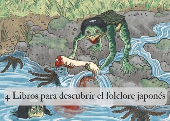 4 libros para descubrir el folclore japonés
